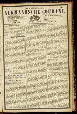 Alkmaarsche Courant 1884-07-09
