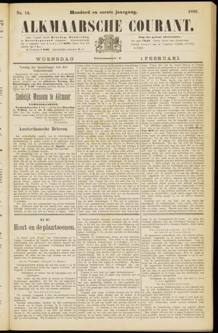 Alkmaarsche Courant 1899-02-01