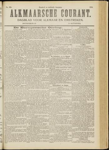 Alkmaarsche Courant 1914-10-08