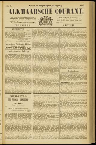 Alkmaarsche Courant 1895-01-09