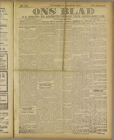 Ons Blad : katholiek nieuwsblad voor N-H 1919-08-06
