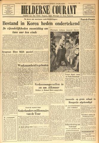 Heldersche Courant 1953-07-27