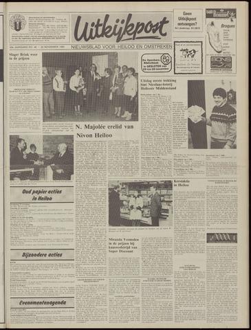 Uitkijkpost : nieuwsblad voor Heiloo e.o. 1985-11-20