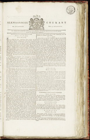 Alkmaarsche Courant 1827-08-13