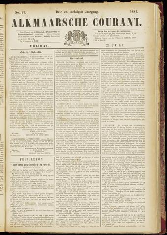 Alkmaarsche Courant 1881-07-29