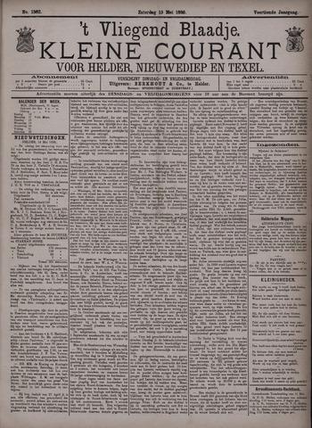 Vliegend blaadje : nieuws- en advertentiebode voor Den Helder 1886-05-15