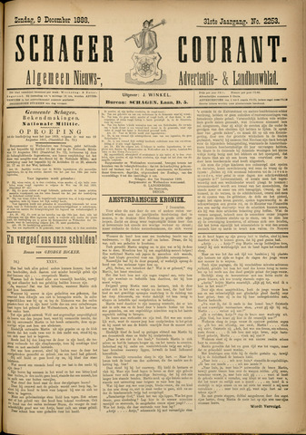 Schager Courant 1888-12-09