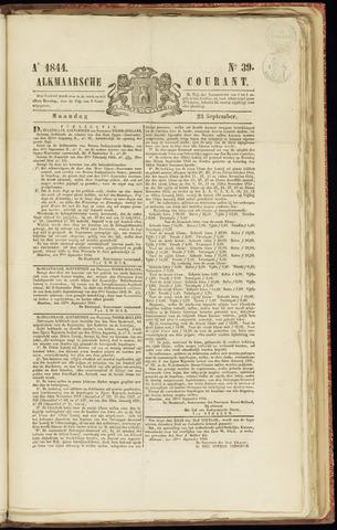 Alkmaarsche Courant 1844-09-23