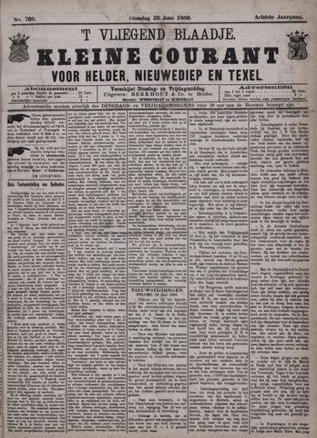 Vliegend blaadje : nieuws- en advertentiebode voor Den Helder 1880-06-29