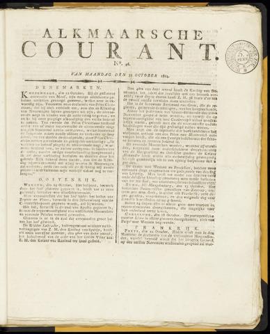 Alkmaarsche Courant 1814-10-31