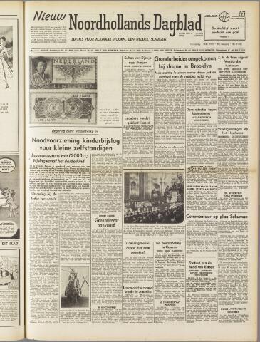 Nieuw Noordhollandsch Dagblad : voor Alkmaar en omgeving 1950-05-11
