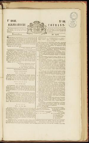 Alkmaarsche Courant 1846-04-20