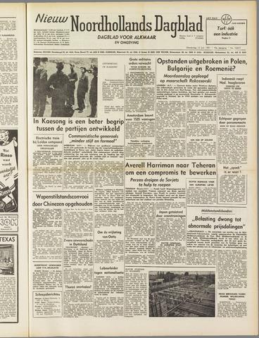 Nieuw Noordhollandsch Dagblad : voor Alkmaar en omgeving 1951-07-12