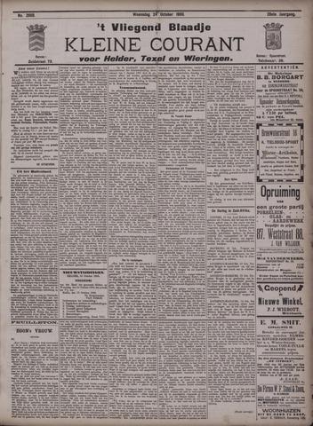 Vliegend blaadje : nieuws- en advertentiebode voor Den Helder 1900-10-24