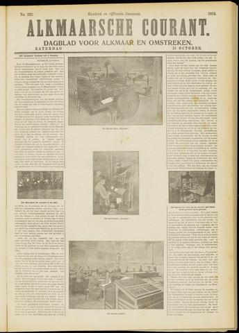Alkmaarsche Courant 1913-10-11