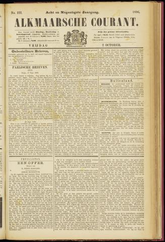 Alkmaarsche Courant 1896-10-02