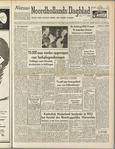 Nieuw Noordhollandsch Dagblad : voor Alkmaar en omgeving 1951-03-10