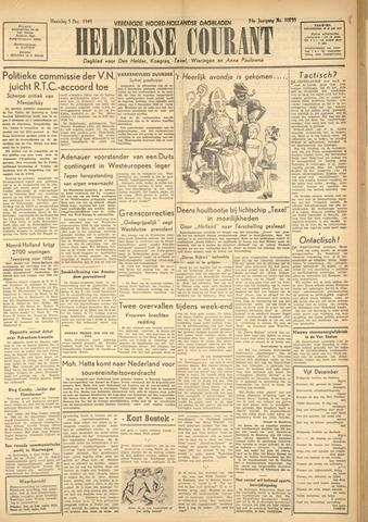 Heldersche Courant 1949-12-05