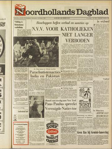 Noordhollands Dagblad : dagblad voor Alkmaar en omgeving 1965-09-09