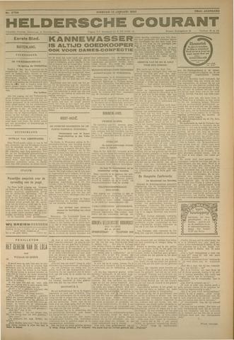 Heldersche Courant 1930-01-14