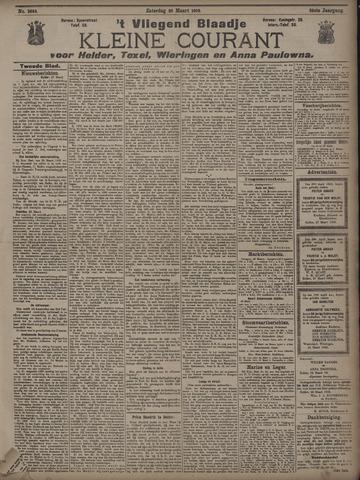Vliegend blaadje : nieuws- en advertentiebode voor Den Helder 1908-03-28