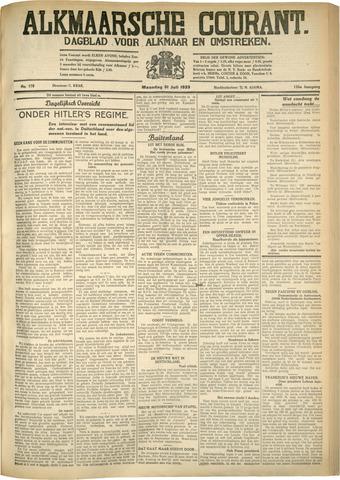 Alkmaarsche Courant 1933-07-31
