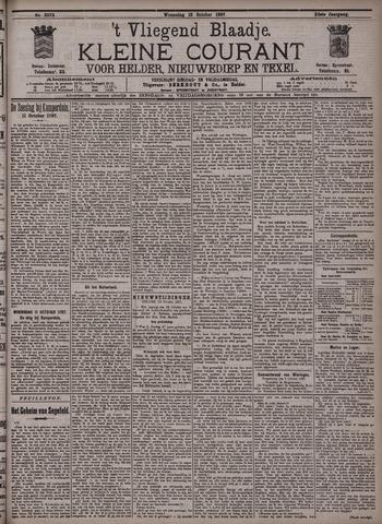 Vliegend blaadje : nieuws- en advertentiebode voor Den Helder 1897-10-13