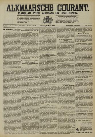 Alkmaarsche Courant 1937-04-13