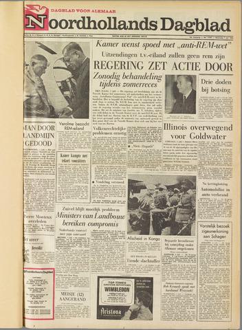 Noordhollands Dagblad : dagblad voor Alkmaar en omgeving 1964-07-01