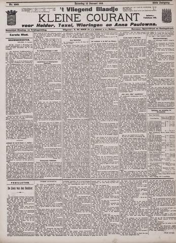 Vliegend blaadje : nieuws- en advertentiebode voor Den Helder 1912-01-13