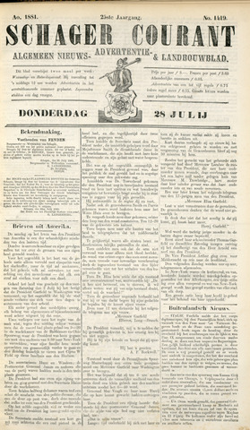 Schager Courant 1881-07-28