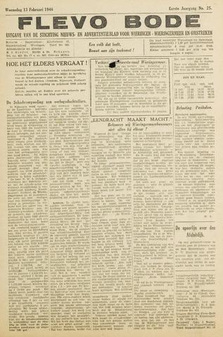 Flevo-bode: nieuwsblad voor Wieringen-Wieringermeer 1946-02-13