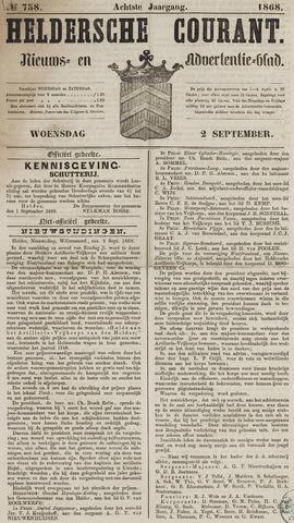 Heldersche Courant 1868-09-02