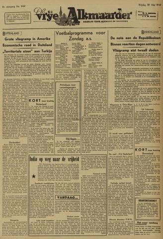 De Vrije Alkmaarder 1947-05-30