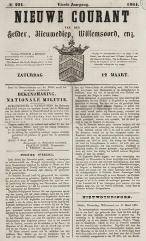 Nieuwe Courant van Den Helder 1864-03-12