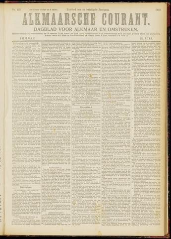 Alkmaarsche Courant 1919-07-25