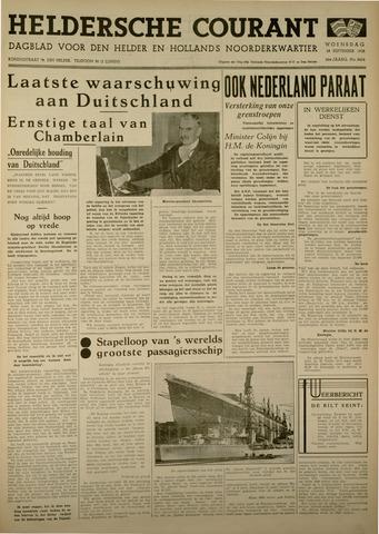 Heldersche Courant 1938-09-28
