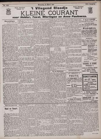 Vliegend blaadje : nieuws- en advertentiebode voor Den Helder 1904-03-23