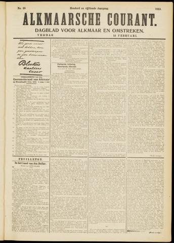 Alkmaarsche Courant 1913-02-14