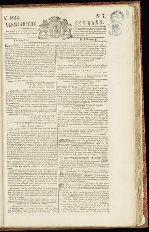 Alkmaarsche Courant 1848-02-14