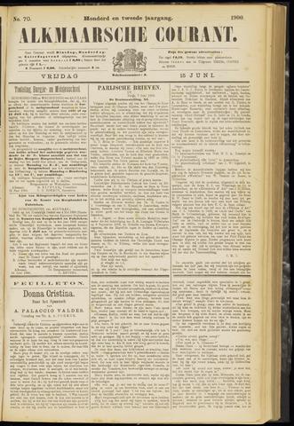 Alkmaarsche Courant 1900-06-15