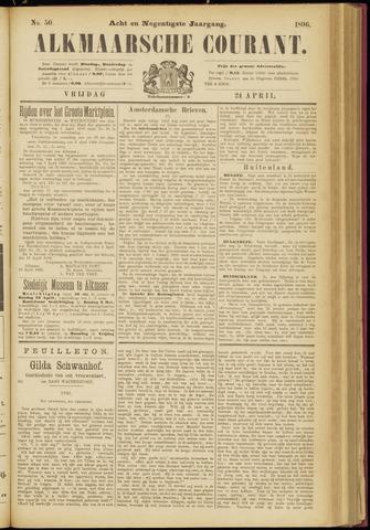 Alkmaarsche Courant 1896-04-24