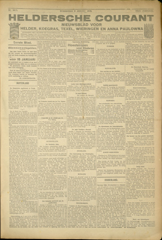 Heldersche Courant 1925-01-08