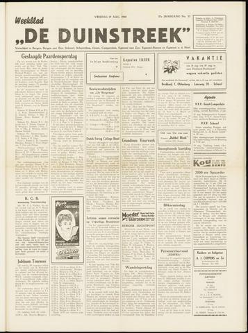 De Duinstreek 1960-08-19