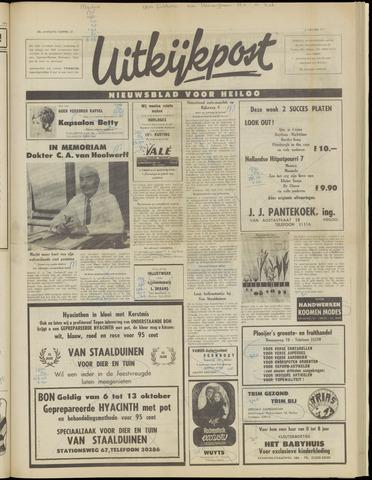 Uitkijkpost : nieuwsblad voor Heiloo e.o. 1971-10-06