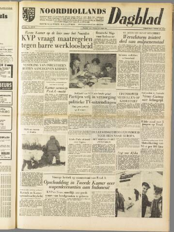 Noordhollands Dagblad : dagblad voor Alkmaar en omgeving 1959-02-11