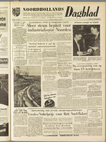 Noordhollands Dagblad : dagblad voor Alkmaar en omgeving 1959-11-06