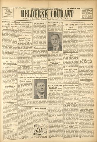 Heldersche Courant 1949-12-30