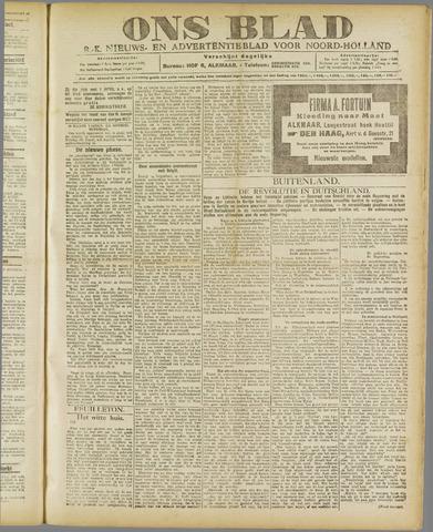 Ons Blad : katholiek nieuwsblad voor N-H 1920-03-18
