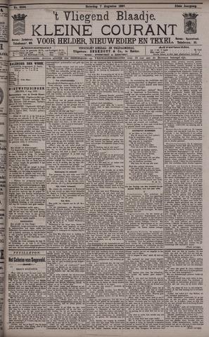 Vliegend blaadje : nieuws- en advertentiebode voor Den Helder 1897-08-07